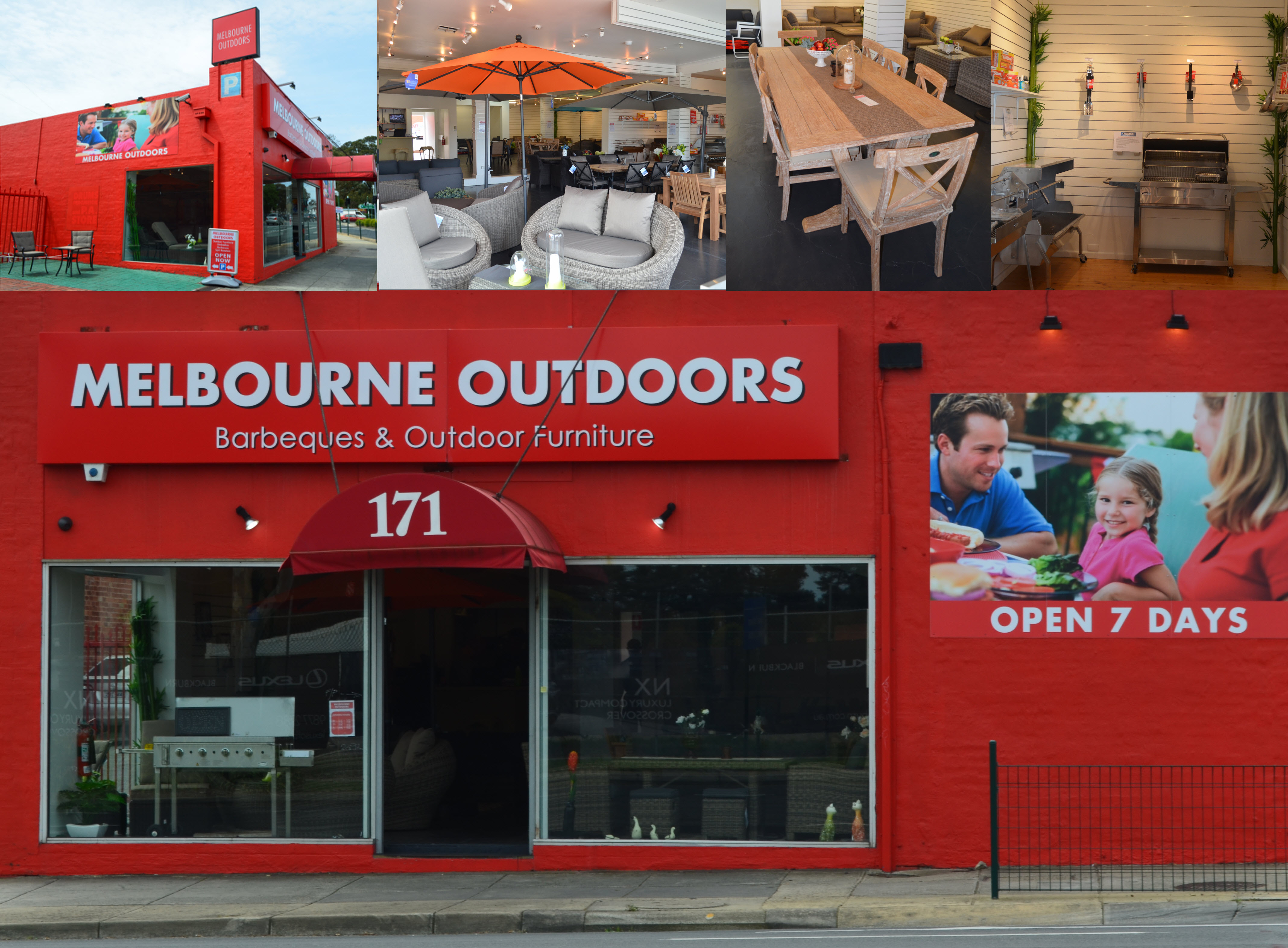 Melbourne outdoor furniture specialists